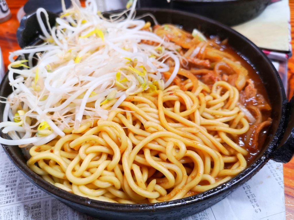十本松ドライブイン-豚定食